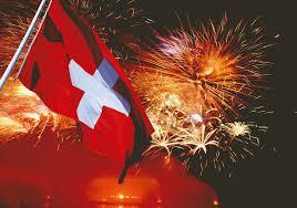 Nationalfeier Feuerwerk